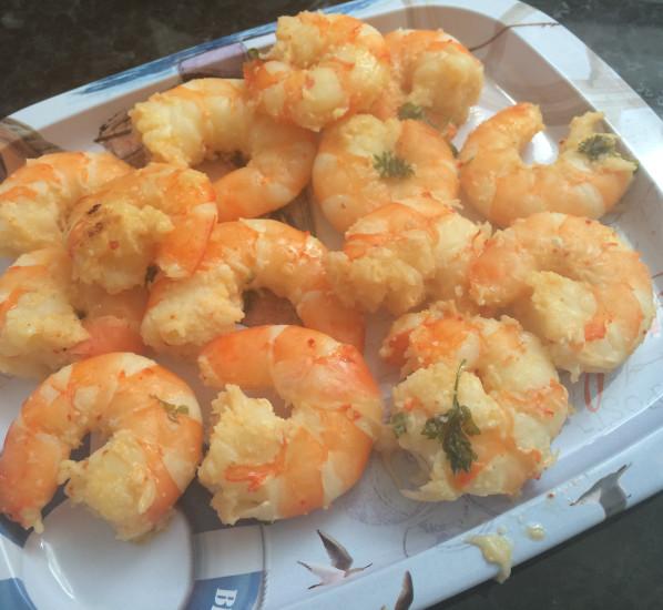 Crevettes apéritives