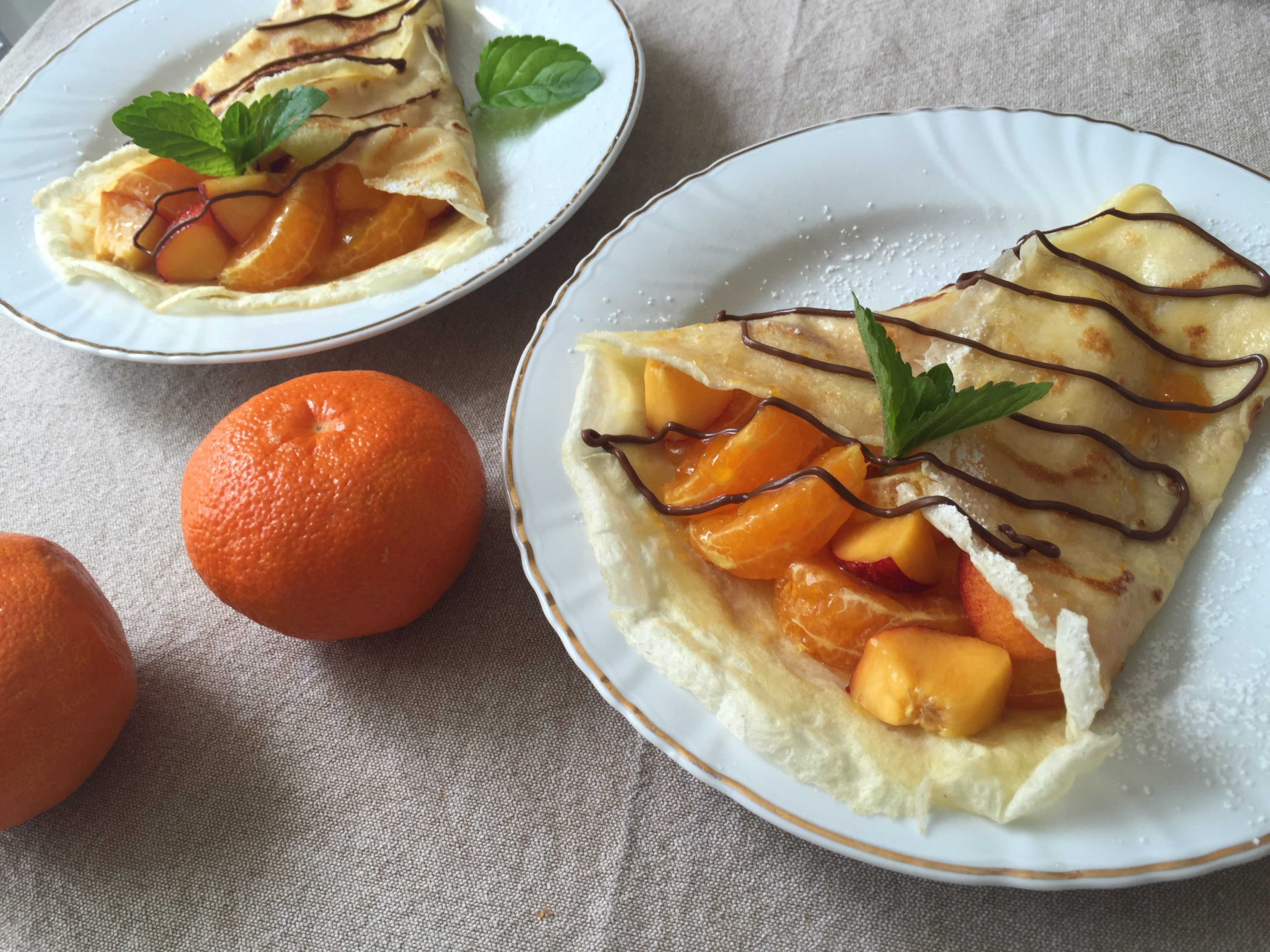 Crêpes fruits 3