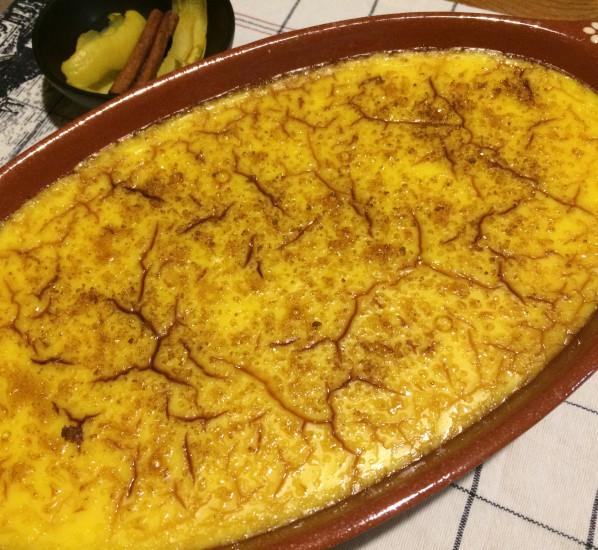 Leite creme (crème brûlée à la portugaise)