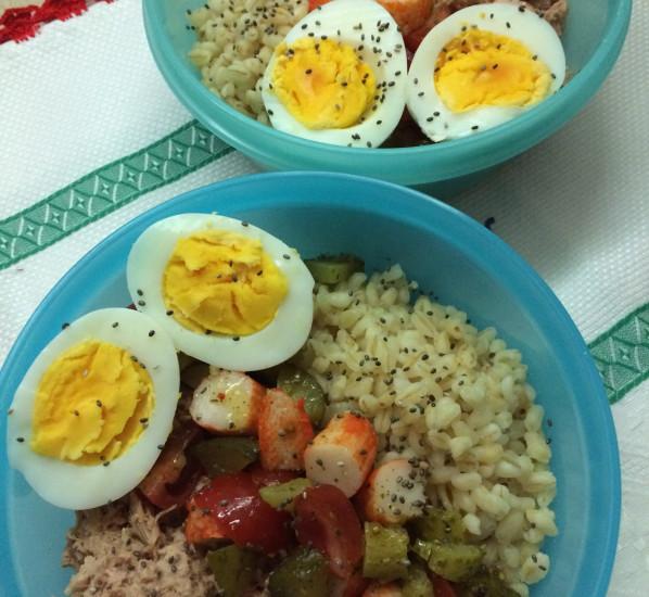 Salade blé-tuna