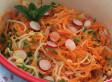 Salade de carottes-mungo
