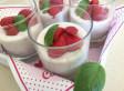 Fromage blanc aux fraises, chia et basilic